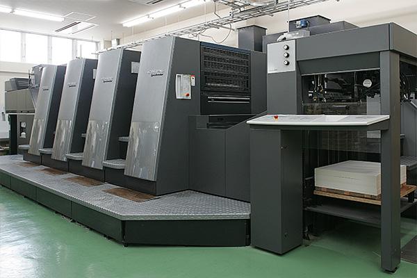印刷機ハイデルCD機